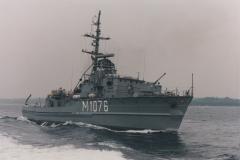 Ex-Hohlstablenkboot M 1076 PADERBORN, Klasse 351