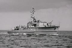 Küstenminensuchboot Weilheim M1077 920814-26a