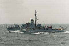 Ex-Hohlstablenkboot Klasse 351 M 1083 ULM, 1997-62251-9, Claret