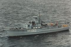 Ex-Hohlstablenkboot Klasse 351 M 1083 ULM, MFG 2