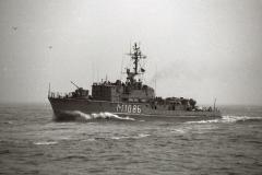 880412C-21 Küstenminensuchboot (späterMinenjagdboot Kl 331),  320/17 ExFulda M1086